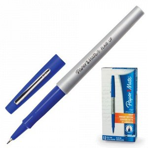 Ручка капиллярная PAPER MATE Flair UF, корпус серый, толщина