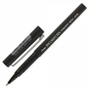 Ручка-роллер PENTEL (Япония) Document Pen, корпус черный, уз