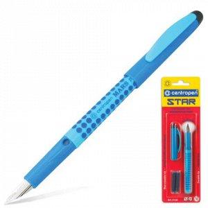 Ручка перьевая CENTROPEN Star, корпус ассорти, иридиевое пер