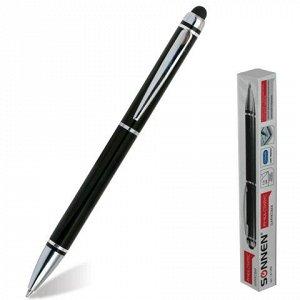 Ручка-стилус SONNEN для смартфонов/планшетов, корпус черный,