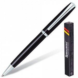 Ручка бизнес-класса шариковая BRAUBERG Cayman Black, корпус