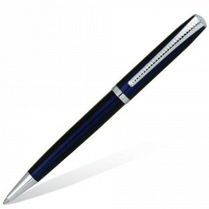 Ручка бизнес-класса шариковая BRAUBERG Cayman Blue, корпус с
