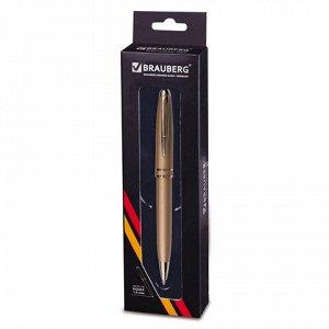 Ручка бизнес-класса шариковая BRAUBERG Oceanic Gold, корпус