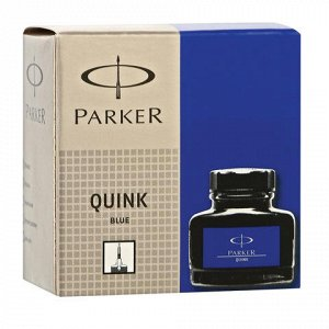 Чернила PARKER (Германия) Bottle Quink, 57 мл, 1950376, сини