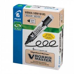 Маркер для доски PILOT WBMA-VBM-M, круглый наконечник 4мм, з