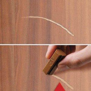 Воск для ремонта мебели EDDING 8901, НАБОР 3шт,грецк.орех(3