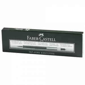 Карандаш мех. FABER-CASTELL TK-FINE EXECUTIVE, корп. зелен.,