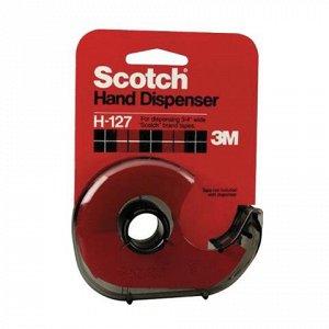Диспенсер для клейкой ленты SCOTCH, для лент шириной до 19мм