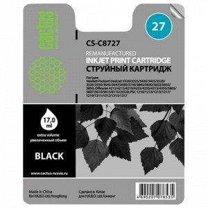 Картридж струйный CACTUS (CS-C8727) для HP Deskjet 3320/3520