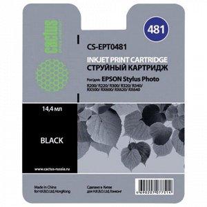 Картридж струйный CACTUS (CS-EPT0481) для EPSON Stylus Photo