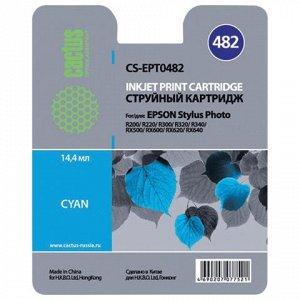 Картридж струйный CACTUS (CS-EPT0482) для EPSON Stylus Photo