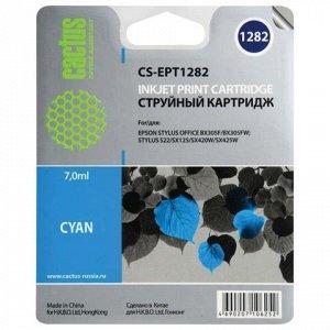 Картридж струйный CACTUS (CS-EPT1282) для EPSON Stylus S22/S