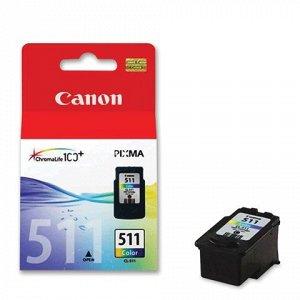 Картридж струйный CANON (CL-511) Pixma MP240/MP260/MP480 цве