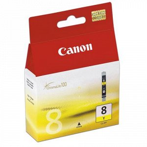 Картридж струйный CANON (CLI-8Y) Pixma iP4200/4300/4500/5200