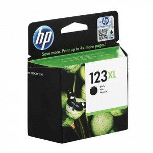 Картридж струйный HP (F6V19AE) Deskjet 2130, №123XL, чёрный,