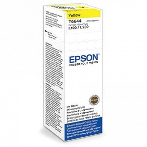 Чернила EPSON (C13T66444A)для СНПЧ Epson L100/L110/L200/L210