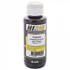 Чернила HI-BLACK для CANON универсальные, черные 0,1л пигмен