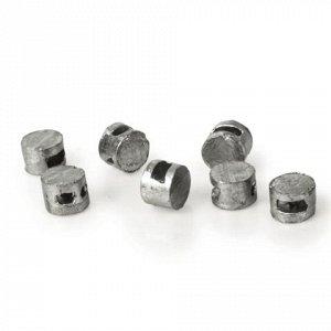 Пломбы свинцовые, диаметр 10 мм, высота 7 мм, упаковка 10кг