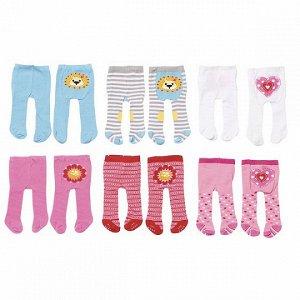 Комплект колготок на Baby Born голубые (2 шт. в комплекте)