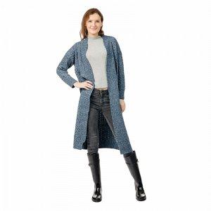 Кардиган Кардиган женский трикотажный.   Состав: 90% акрил, 10% шерсть.  Размер свободный.