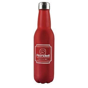 914-RDS Термос 0,75 л Bottle Red Rondell