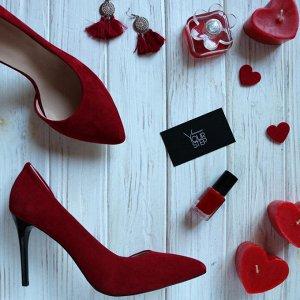 Туфли замшевые YourStep цвет шоколад