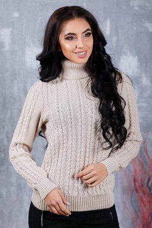 Шерстяной свитер на 42р