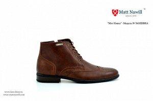 Кожаные ботинки качественные и красивые ТЕМНО КОРИЧНЕВЫЕ