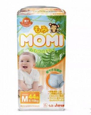 MOMI трусики M (6-10 кг), 44 шт