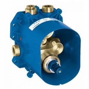Термостат 35500000 Rapido T Встроенный универсальный термостат Rapido T для ванной, душа и центрального термостата , без комплекта верхней монтажной части , неглубокая заделка 70-95 мм , элементарная