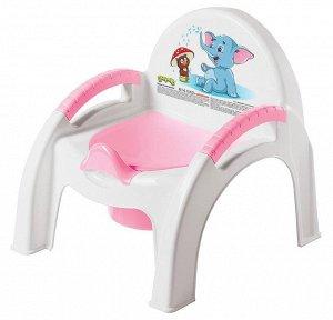 Горшок-стульчик NEW (розовый) 431326705