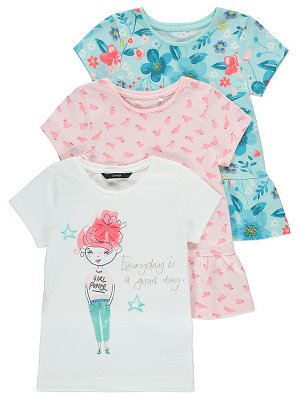 Набор Assorted Printed Tops 3 Pack