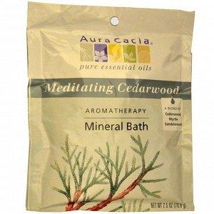 Ароматическое средство для ванны с минералами, медитативный кедр