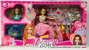 Кукла Кукла с гардеробом и аксессуарами