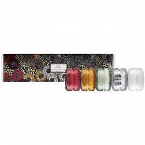Подарочный набор из 5 ароматов Японской коллекции в подсвечниках макарон