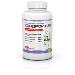 Хондроитин 180 капсул (417 мг) Усиленная формула