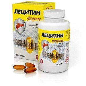 Лецитин Форте 1580 мг 90 капсул
