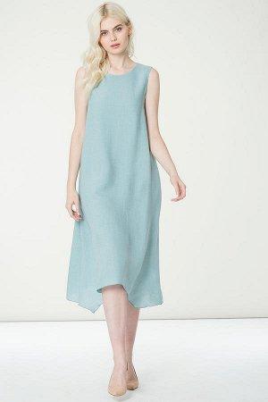 Платье Цвет: мятный 80%вискоза 20%полиамид