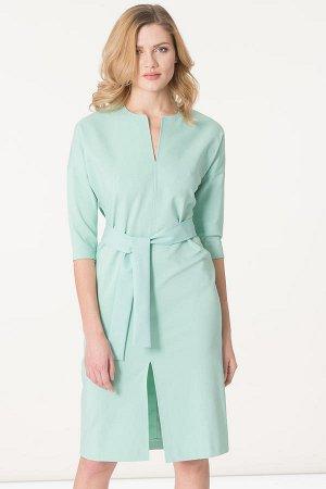 Платье Цвет: мятный 74%хлопок23%полиамид3%эластан