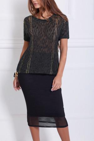 Блузка с рюрексом