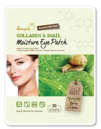 Collagen&Snail SkinApple  Патчи под глаза с коллагеном и экстрактом муцина улитки 30 шт