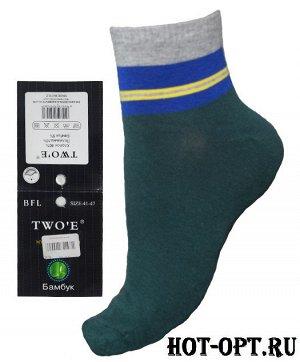Мужские короткие цветные носки. BFL