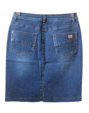 Юбка джинсовая синяя 50см C72437-4101-2C рр 23(58),