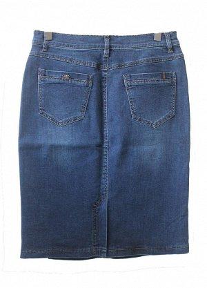 Юбка джинсовая синяя 58см. размер 25(60),