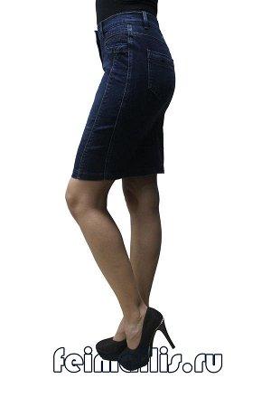 Юбка джинсовая синяя C71855-4002-3 рр 23(58),