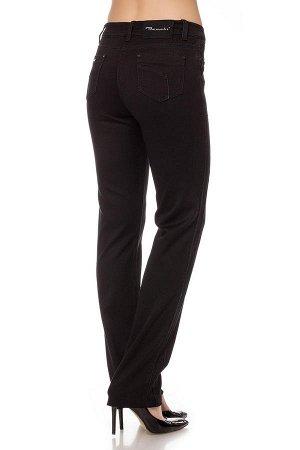 Слегка приуж черные джинсы SS6738 рр 11(46)