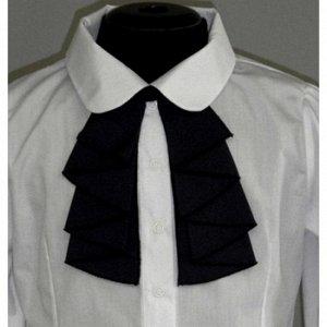 Блузка для девочки полуприталенная