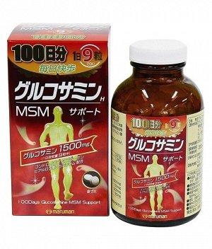 БАД: Глюкозамин 1500мг MSM