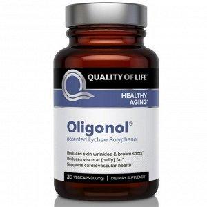 Quality of Life Labs Олигонол 100 мг 30 капсул на растительной основе