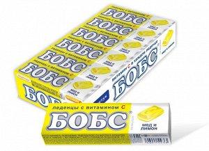 Леденцы Бобс Медово-Лимонные С Витамином С 35Г